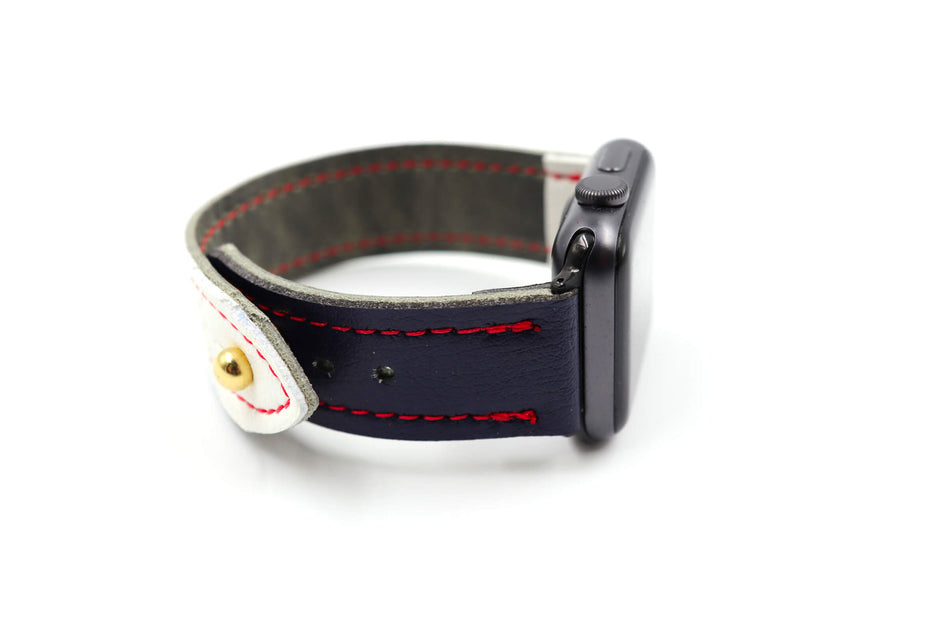 Demko Series iWatch Band – Second String Leather Company  Demko Series iW...