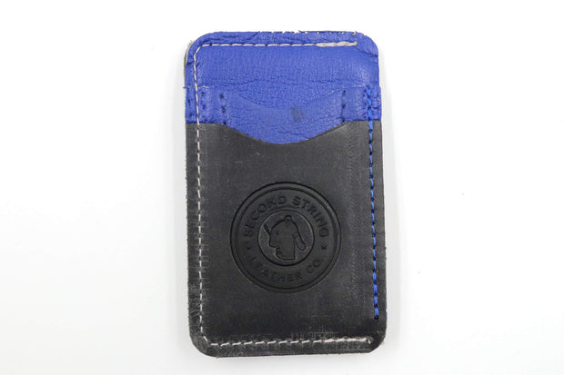 Blue Lightning Collection 3 Slot Money-Clip