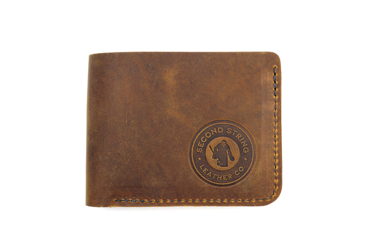 GM9 Gold Seal 6 Slot Bi-Fold Wallet