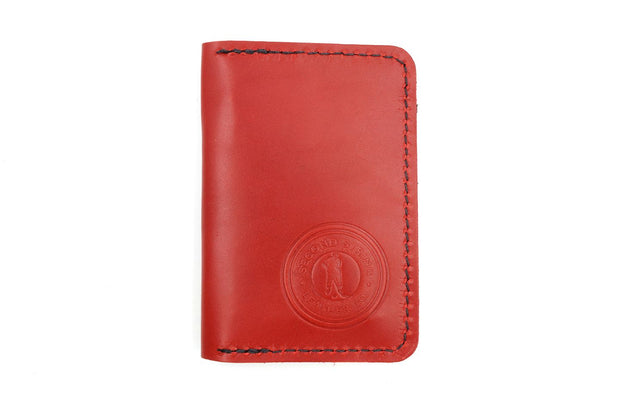 Cooper Red/White 6 Slot Wallet