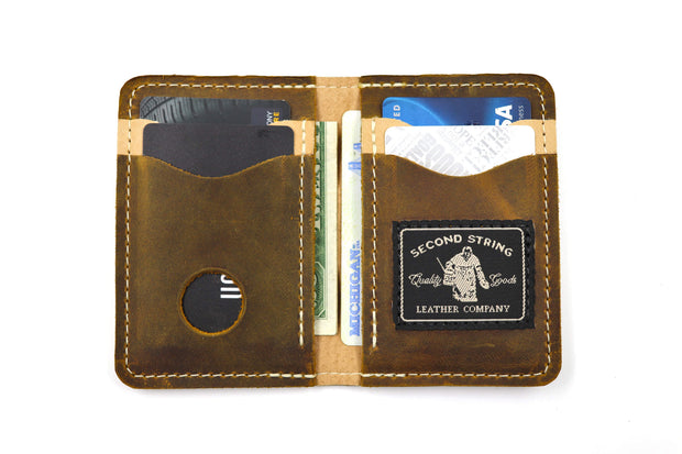 Waffle Board Wallet - Classic Brown