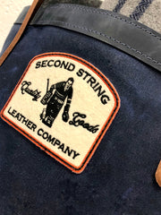 Second String Leather Company Wool Patch