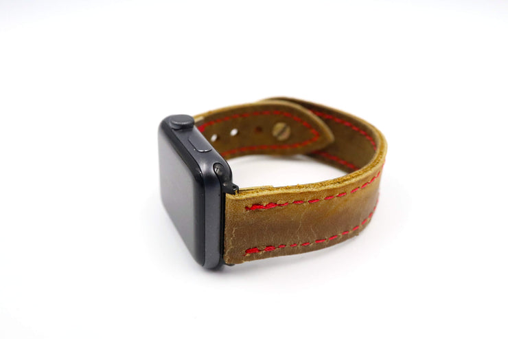 Cooper GM9 Waffle Brown iWatch Band