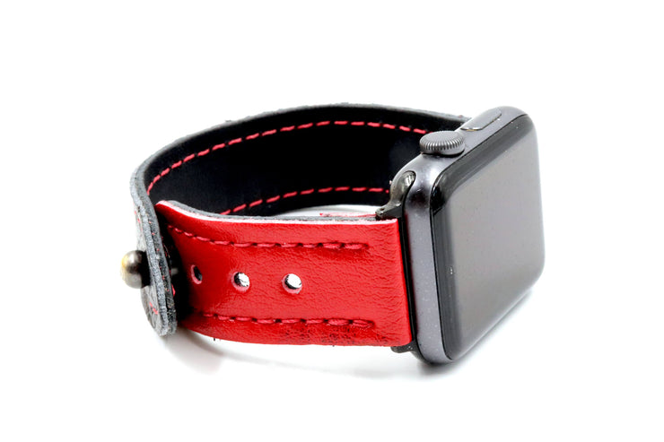 Brian's Beast Glove Black/Red iWatch Band