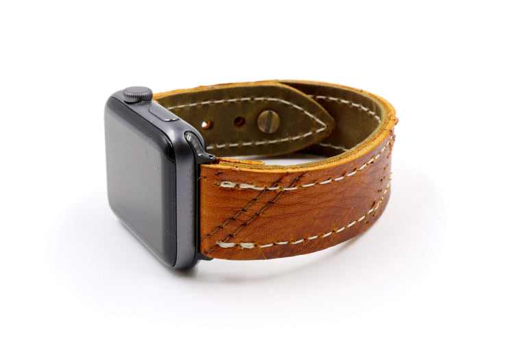 Gold Seal GM6 Brown iWatch Band