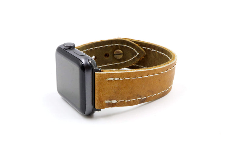 Cooper GM21 Brown iWatch Band