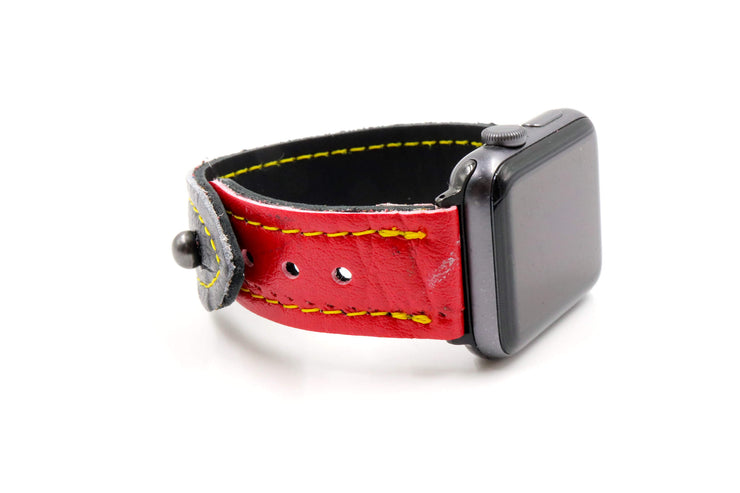 Red Alert Collection Red/Black iWatch Band
