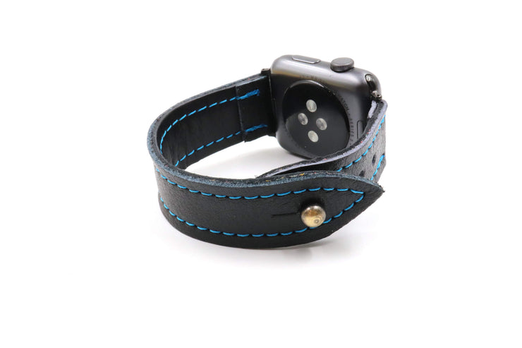 Shark Attack Black iWatch Band