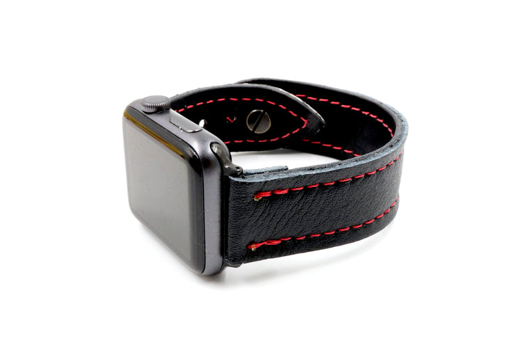 Brian's Air Thief Blocker Black/Red iWatch Band