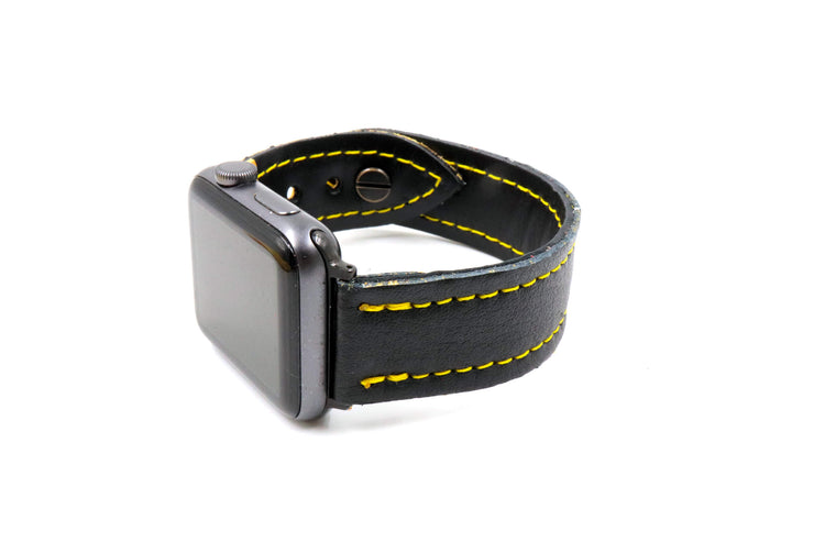 Brian's Thief Glove Black/Yellow iWatch Band