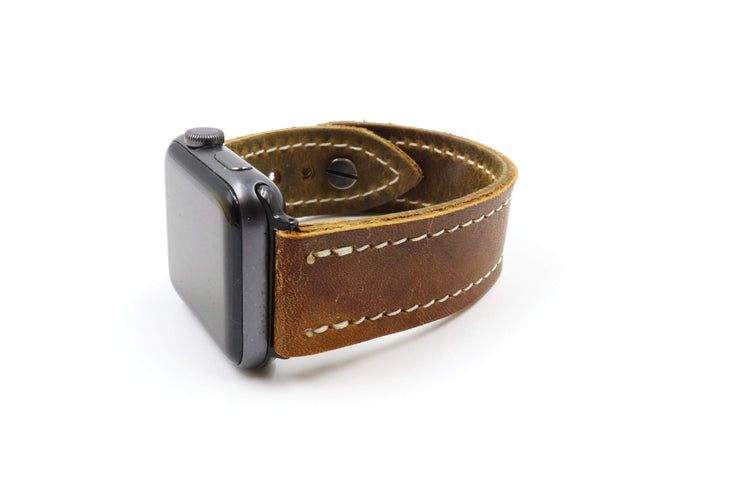 Cooper GM12 Vintage Brown iWatch Band