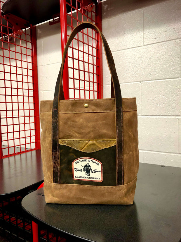 Commuter Tote Bag - Brown