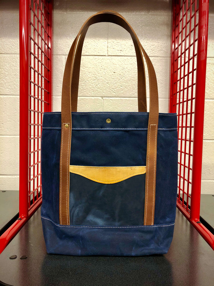 Commuter Tote Bag - Navy