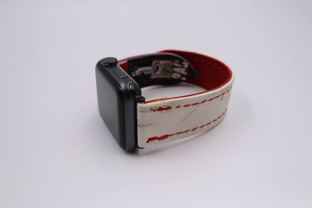 Panger Pro Series White/Red iWatch Band