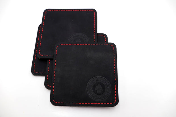 Coasters - Black 4 Pack