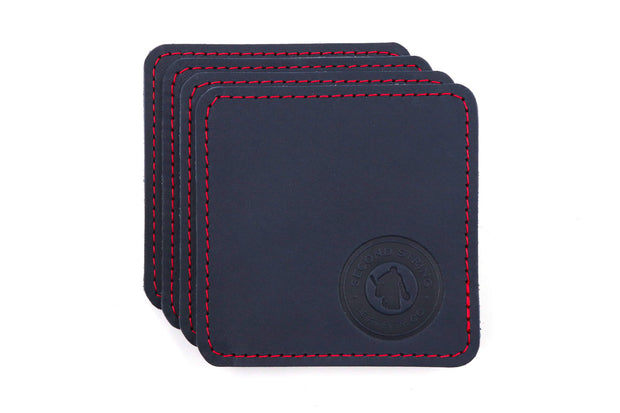 Coasters - Navy Blue 4 Pack