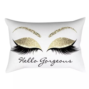 "Lash Pillow ""'Hello Gorgeous''"