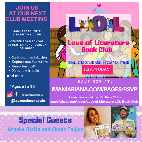 The LOL Book Club features Author Chase Taylor & Brooke Aiello