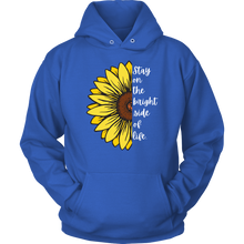 Load image into Gallery viewer, Stay on the bright side of life Adult Hoodie