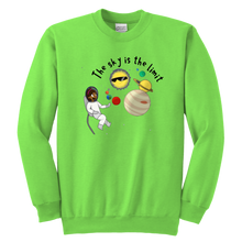 Load image into Gallery viewer, The Sky is the Limit Youth Sweatshirt