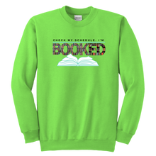 Load image into Gallery viewer, Booked Crewneck Sweatshirt