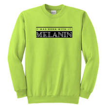 Load image into Gallery viewer, Melanin Crewneck Sweatshirt