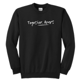 Together Apart Crewneck Sweatshirt (white)