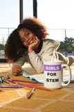 Girls for STEM Mug ((Purple)