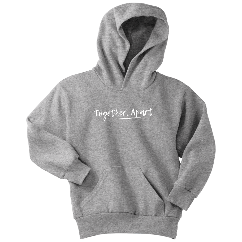 Together Apart Youth Hoodie (White)