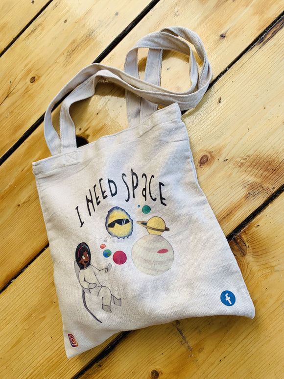 I Need Space Tote Bag