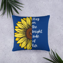 Load image into Gallery viewer, Sunflower Basic Throw Pillow