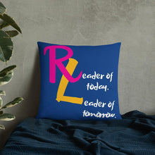 Load image into Gallery viewer, Reader Leader Basic Throw Pillow