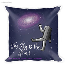 Load image into Gallery viewer, The Sky is the Limit Square Pillow