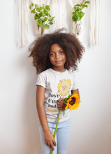 Load image into Gallery viewer, Imani Ariana Sunflower Girl's T-Shirt