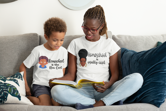 Mommy & Me Homeschool Shirt (KIDS BOY)