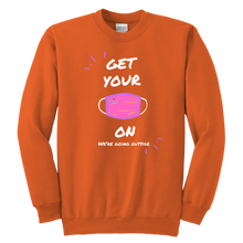 Load image into Gallery viewer, Get your Mask On Crewneck Sweatshirt