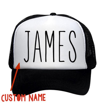 "Custom Name ""Magic Marker"" Kids Trucker Caps"