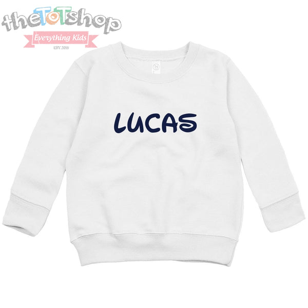 """Wiggles"" Custom Name Sweatshirt"