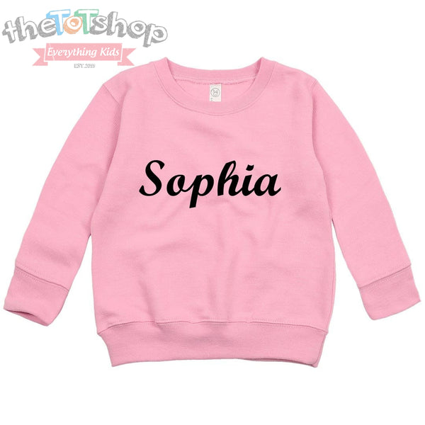 """The Sophia"" Custom Name Sweatshirt"