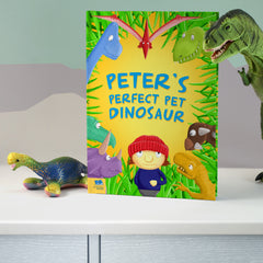 Personalized Pet Dinosaur Story Book