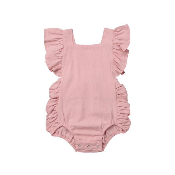 """The Babygirl"" Ruffle Romper"