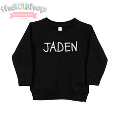 """The Jaden"" Custom Name Toddler Sweatshirt"