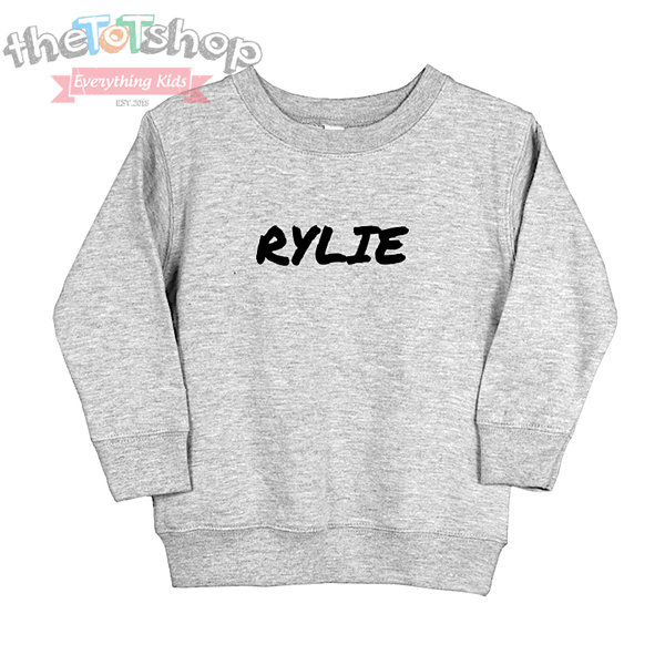 """The Rylie"" Custom Name Tot Sweatshirt"