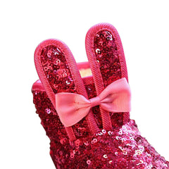 Sparkly Bunny Booties