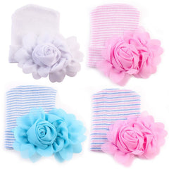 "Newborn ""Flowers"" Hospital Beanie"