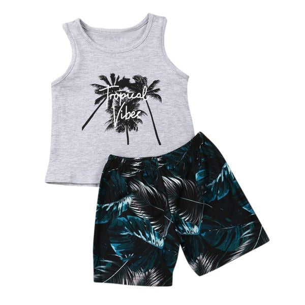 """Tropical"" Boys Summer Set"