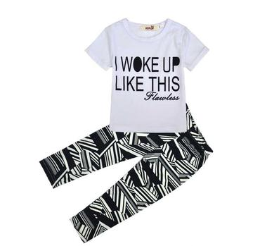 "2-Piece ""I Woke Up Like This""  Set"