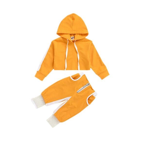 """Cropped Cutie"" Hooded Trackset"