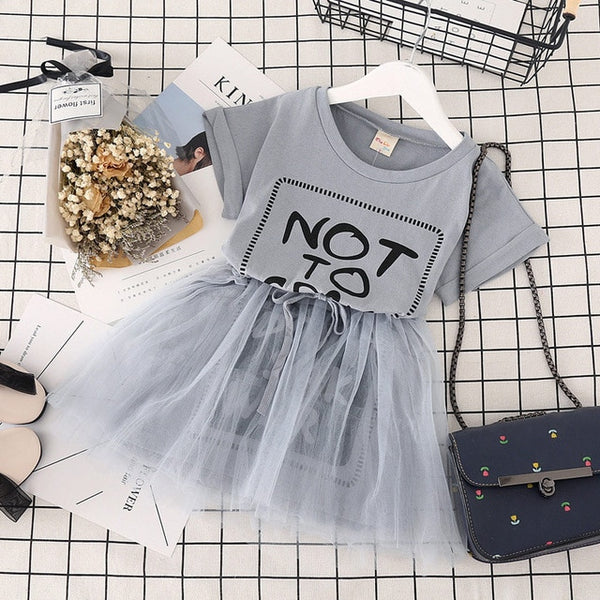 """Tshirt and Tulle"" KIDS dress"