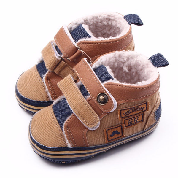 """Brian"" Fleece Ankle Shoe"